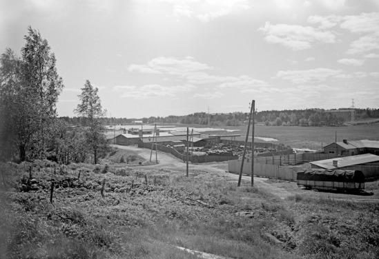 1960 n. . Kytösuontie, Pikku-Huopalahti